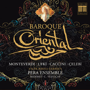 Cover : Baroque Oriental-CD
